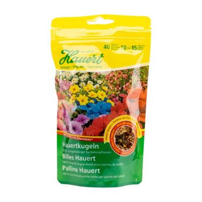 Hauertkugeln für Balkonpflanzen